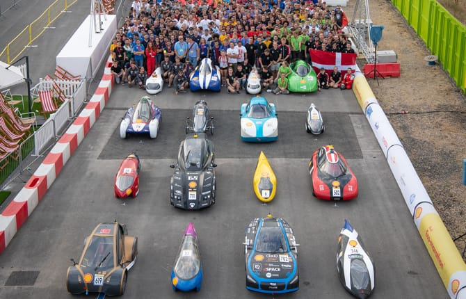 Shell Eco-Marathon Europe, italiani sul podio