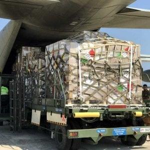 """Brindisi, ecco l' """"Emporio"""" più grande d'Europa per il pronto intervento umanitario"""