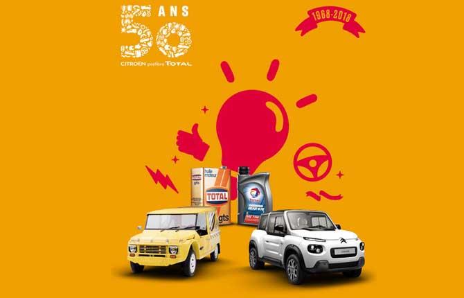 Citroën e Total, 50 anni di successi