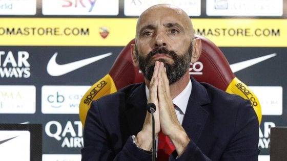 """Roma, Monchi: """"Rinnovo Florenzi? Sono più fiducioso. Alisson lo aspettiamo dopo le vacanze"""""""