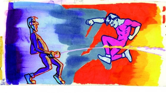 Andrea Pazienza, con Repubblica i disegni mai visti