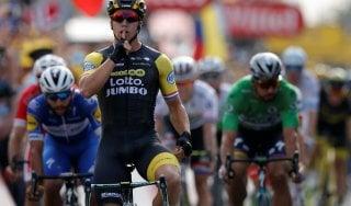 Tour de France, Groenewegen sorprende Gaviria e Sagan. Van Avermaet resta in giallo