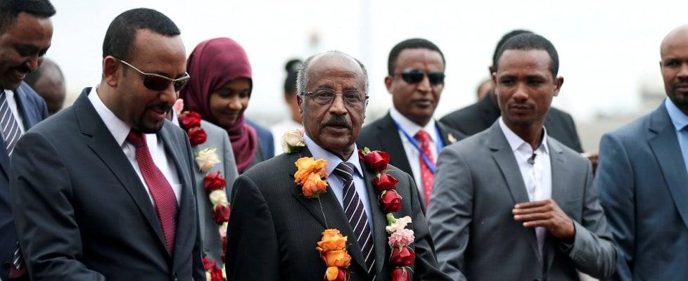 Il presidente eritreo in Etiopia, prima storica visita in 22 anni