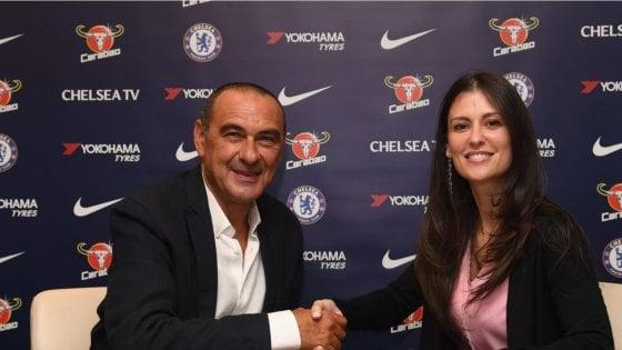 """Chelsea, Sarri firma un triennale: """"Non vedo l'ora di cominciare"""". Ufficiale anche Jorginho"""