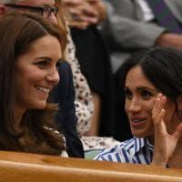 Wimbledon, Kate Middleton e Meghan Markle insieme in tribuna per vedere l'amica Serena Williams