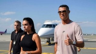 Cristiano Ronaldo è a Torino:la Juve pubblica la prima foto