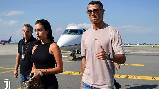Juve, Ronaldo si presenta: