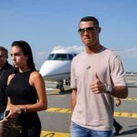 Juventus, Cristiano Ronaldo è arrivato a Torino