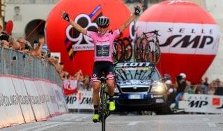 Giro d'Italia donne: Van Vleuten 'cannibale'. La Corsa Rosa è sua