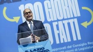 """Zingaretti: """"Congresso per cambiare tutto o non resterà più niente"""""""