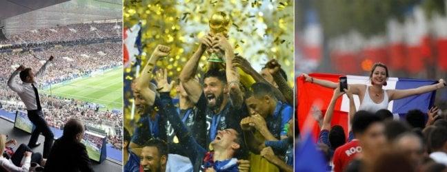 La Francia vince il Mondiale: Croazia ko 4-2.Da Mosca a Parigi, è festa Foto I gol