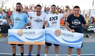 Ai serbi del Liman il primo Challenger italiano di basket 3x3