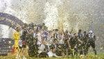 Francia campione: i Bleus alzano la coppa sotto il diluvio