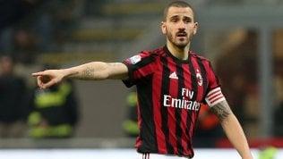 Milan, United in pressing su Bonucci: ma c'è anche il Psg