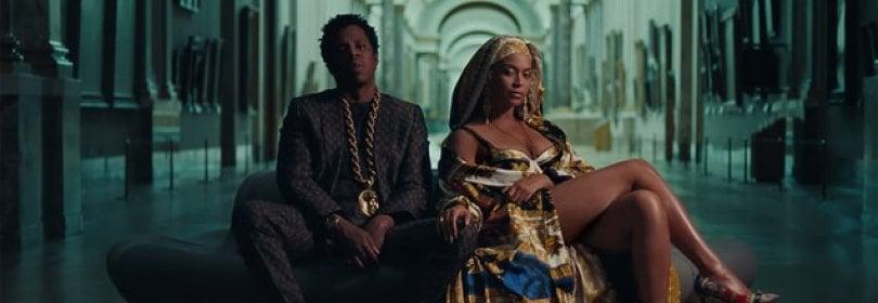Beyoncé e Jay-Z finiscono al Louvre: sulle note del loro videoclip la visita è guidata  · foto