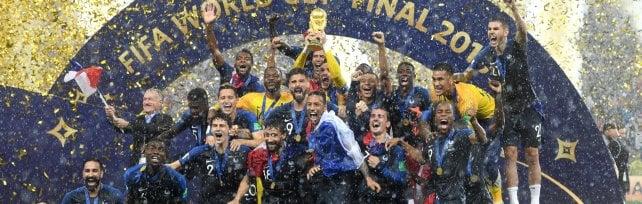 Francia campione del mondo Croazia battuta in finale 4-2