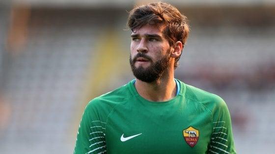 Calciomercato Roma: bye bye Alisson, il Liverpool ad un passo dal portiere