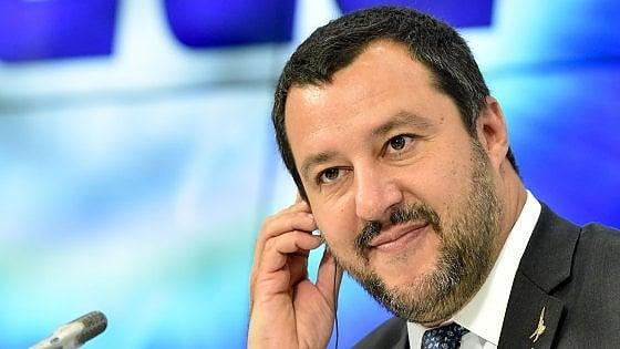 """Migranti, Salvini: """"Cambiare norme e fare della Libia un porto sicuro"""". E sulle sanzioni alla Russia: """"Veto italiano è la soluzione finale"""""""