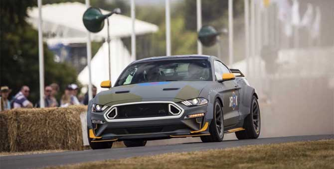 Festival of Speed di Goodwood 2018, tutta la Ford che c'è