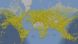 Il giorno con più voli nella storia: in cielo più di 200 mila aerei