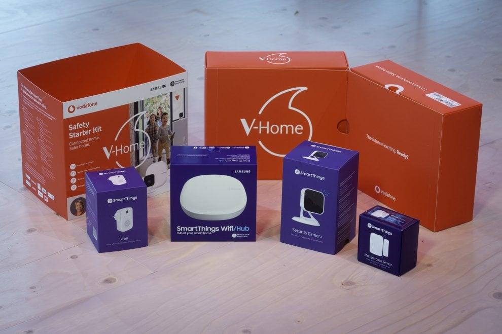 V-Home, la soluzione smart di Vodafone sulla piattaforma Samsung SmartThings
