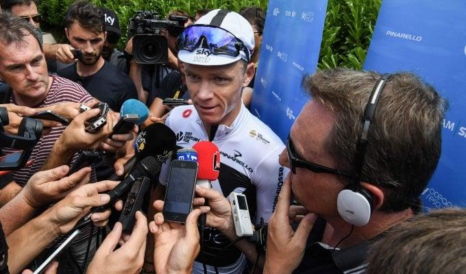 """Tour, Nibali: """"Sulle Alpi sarà dura"""". Froome: """"Nessuna rivalità con Thomas"""""""