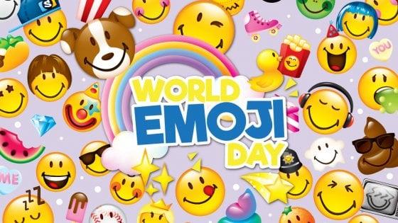 World Emoji Day, la giornata per celebrare le faccine delle