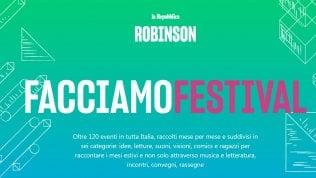 La prima guida digitalee interattiva ai Festival d'ItaliaScopri oltre 120 eventi  mese             per mese e città per città