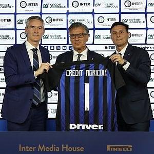 Alessandro Antonello (a sin.), Giampiero Maioli (al centro) e Javier Zanetti