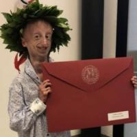 Sammy Basso si laurea in Scienze con 110 e lode: un'altra vittoria per il