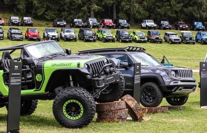 Camp Jeep 2018, passione off road