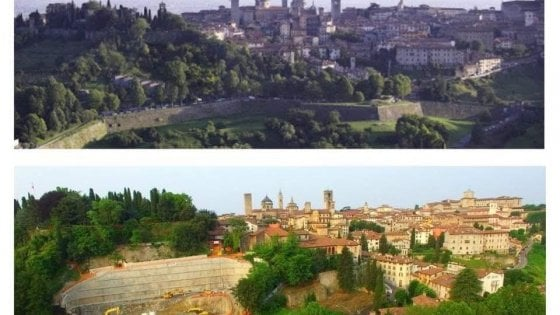 Bergamo, il caso del parcheggio sulle Mura veneziane: l'Unesco chiede al ministero di intervenire