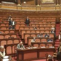 """Senato, Pd contro la Lega: """"Assente alla commemorazione di Borsellino"""". In un post la foto dei banchi vuoti"""