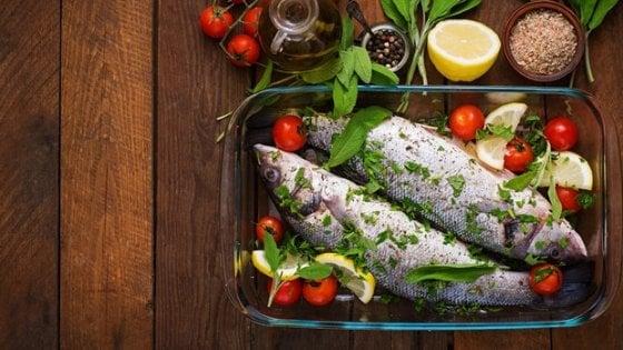 Più pesce nella dieta, è l'elisir di lunga vita