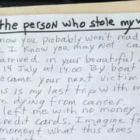 """""""Sto morendo, era il mio ultimo viaggio"""" Turista derubato a Venezia scrive al ladro"""