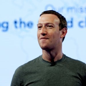 Zuckerberg, gaffe sull
