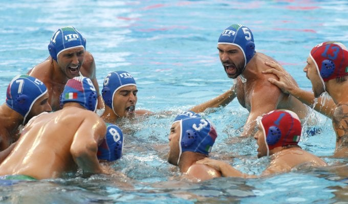 Pallanuoto, Europei: Italia super, Ungheria battuta 12-5