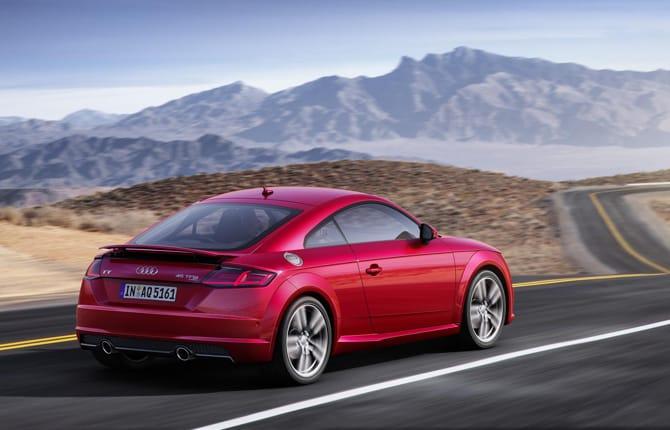 Nuova Audi TT,  20 anni in un restyling