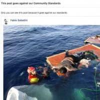 """""""L'immagine del piccolo migrante morto è pedopornografia"""". E Facebook blocca il prof..."""