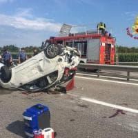 Morta la donna tamponata in autostrada da Marco Paolini