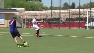 Totti, destro magico a quasi 42 anni: il gol è da applausi