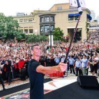 Cristiano Ronaldo è in Cina: in delirio i fan d'oriente