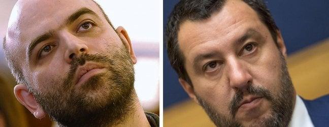 Salvini querela Saviano su carta intestata del Viminale per diffamazione a mezzo stampa. Molti gli attestati di solidarietà allo scrittore