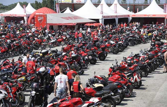 Al via il World Ducati Week, la festa delle Rosse