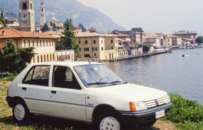 """Peugeot 205 Junior, """"la scatola di sapone"""""""
