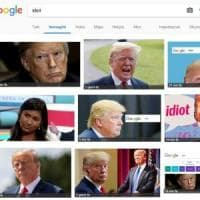 "Cerchi ""idiot"" su Google? Ti compare Trump"