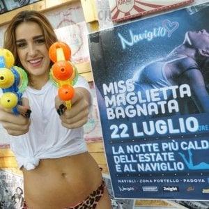 """Padova: magliette bagnate e lato B, l'estate delle polemiche sulle miss. L'assessora: """"Una vera schifezza"""""""