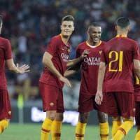 Roma, Schick illude, ma è solo 1-1 con l'Avellino