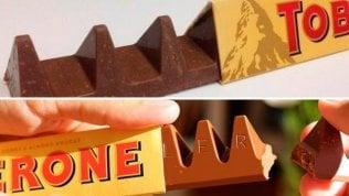 Il Toblerone torna alla sua forma originale: avrà più cioccolato
