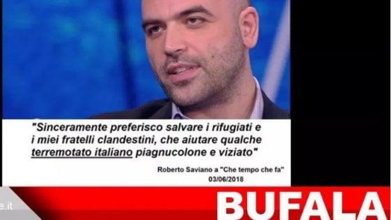 Finto account creava bufale virali su Saviano e Boldrini: dopo il debunking, ora è irraggiungibile